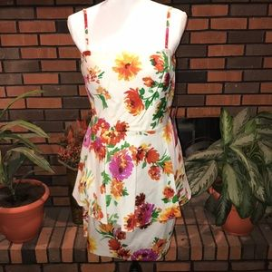NWT Betsy Johnson Floral Dress. Size 10
